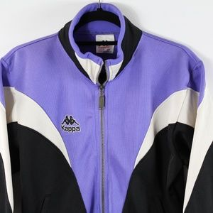 kappa Jackets & Coats - VTG Kappa Colorblock Full Zip Windbreaker Jacket